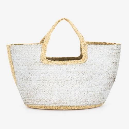 Abbacino Silver Beach Shopper Bag