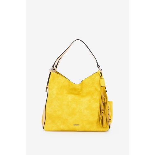 Abbacino yellow hobo shoulder bag