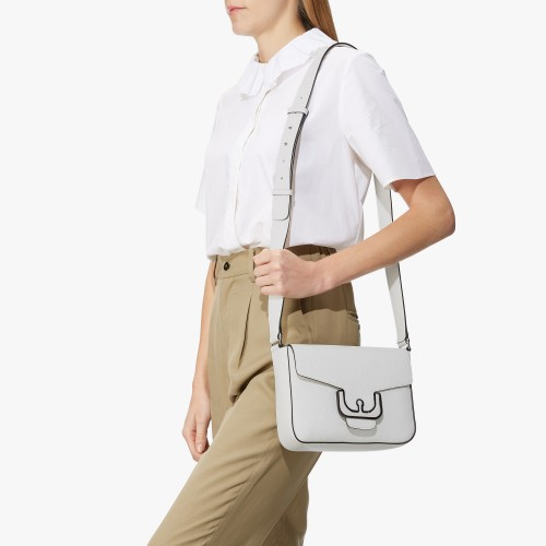 Coccinelle-Ambrine-Leather-Crossbody-Bag-White