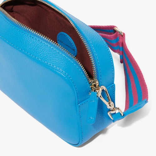 Coccinelle-Tebe-Tumbled-Leather-Mini-Bag-Signal-Blue
