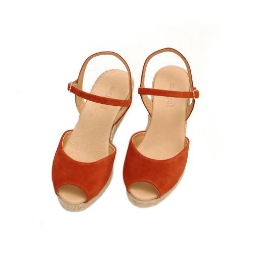 Maypol-Loma-Baby-Silk-Terracotta-Suede-Wedges