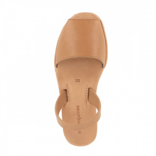 Minorquines-Avarca-Platja-Beige-Leather-Sandals