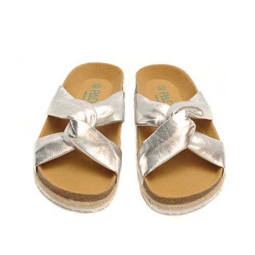 Paez-Crosswise-Silver-Sandals-Triple-Line-Sole