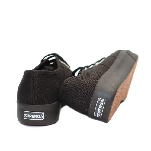 Superga-2730-Cotu-Full-Black-Canvas-Flatforms