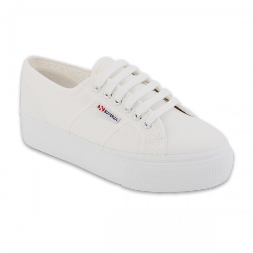 Superga-2730-Cotu-White-Canvas-Flatforms