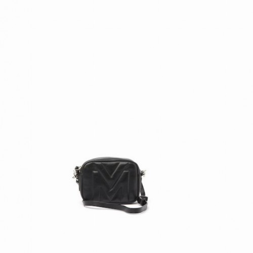 Vic Matie Melody Black Mini Bag Quilted Logo