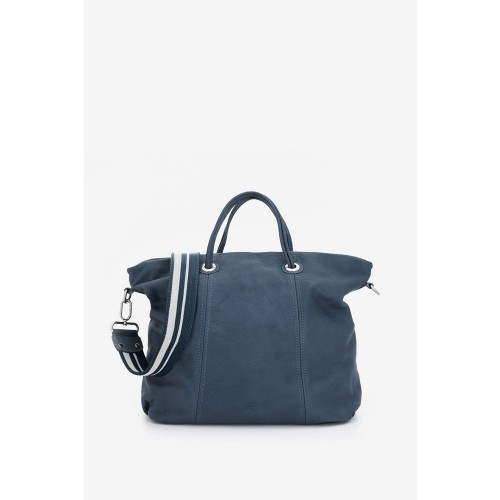 abbacino-blue-leather-shopper-bag