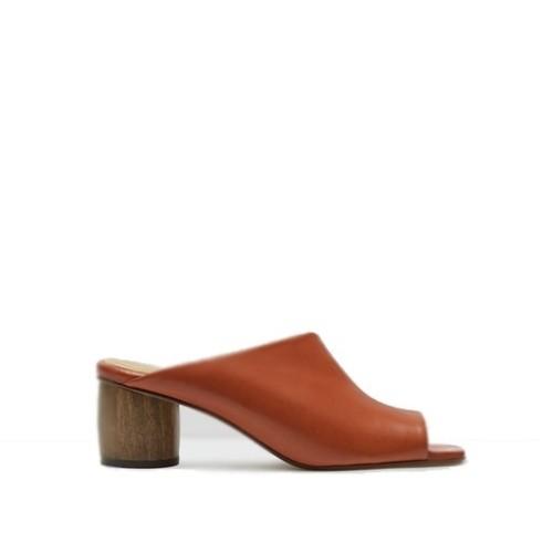 miista albarca brick mules wooden heel