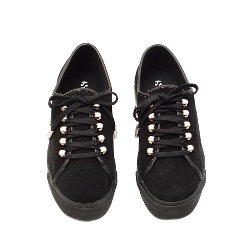 Superga-2730-Black-Suede-Flatforms