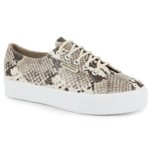 Superga 2730 snake print eco leather sneakers