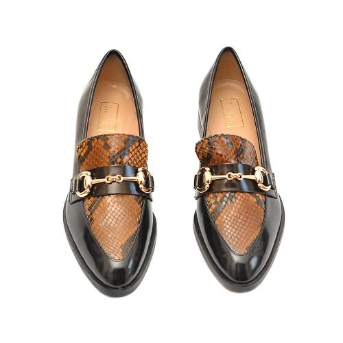 The-Bag-Jordan-Horsebit-Snake-Detail-Loafers