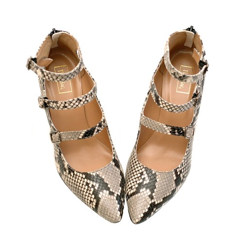 The-Bag-Three-Straps-Roccia-Print-Pumps