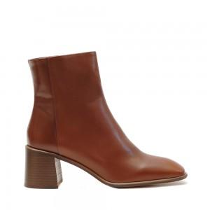E8 Miista Stina Camel Leather Boots