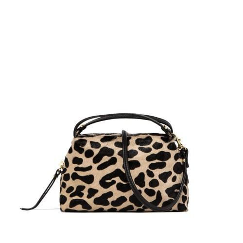 Gianni Chiarini Alifa Animal Print Crossbody Bag