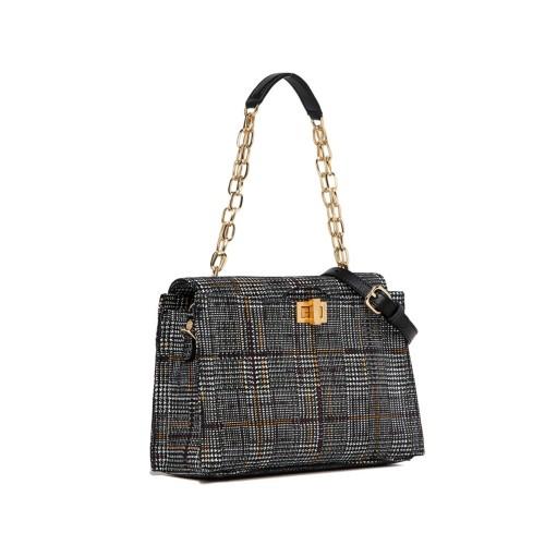 Gianni-Chiarini-Emma-Medium-Leather-Checked-Handbag
