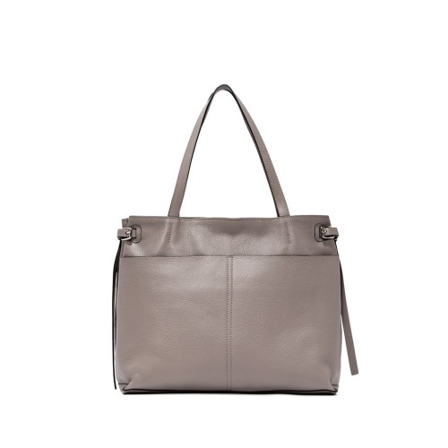 Gianni Chiarini Futura Medium Beige Leather Handbag
