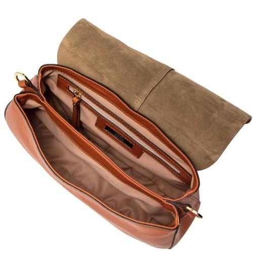 Gianni-Chiarini-Helena-Round-Large-Orange-Leather-Crossbody-Bag