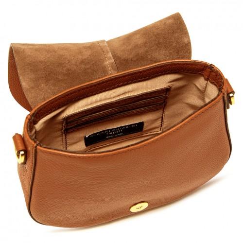Gianni-Chiarini-Helena-Small-Orange-Leather-Bag