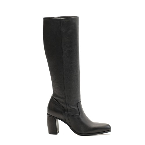 Lilimill 6758 Black Leather Boots