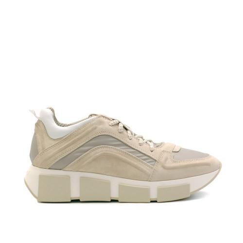 Vic Matie Palo Beige Suede Sneakers