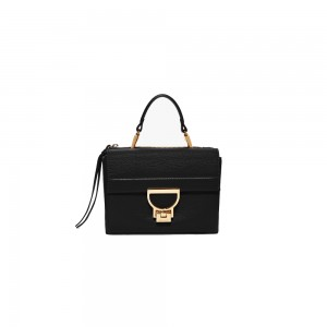 Coccinelle arlettis mini black leather