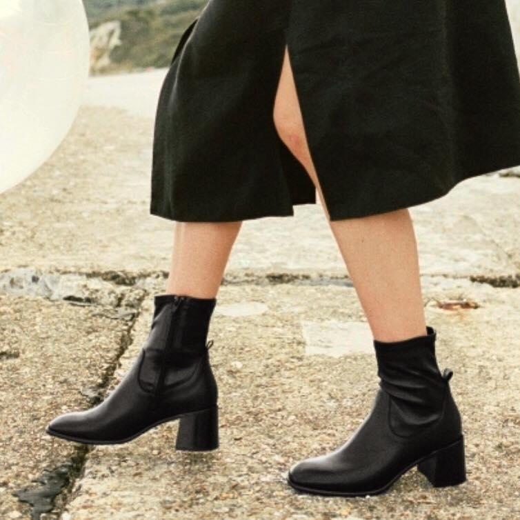E8 miista azra black boots