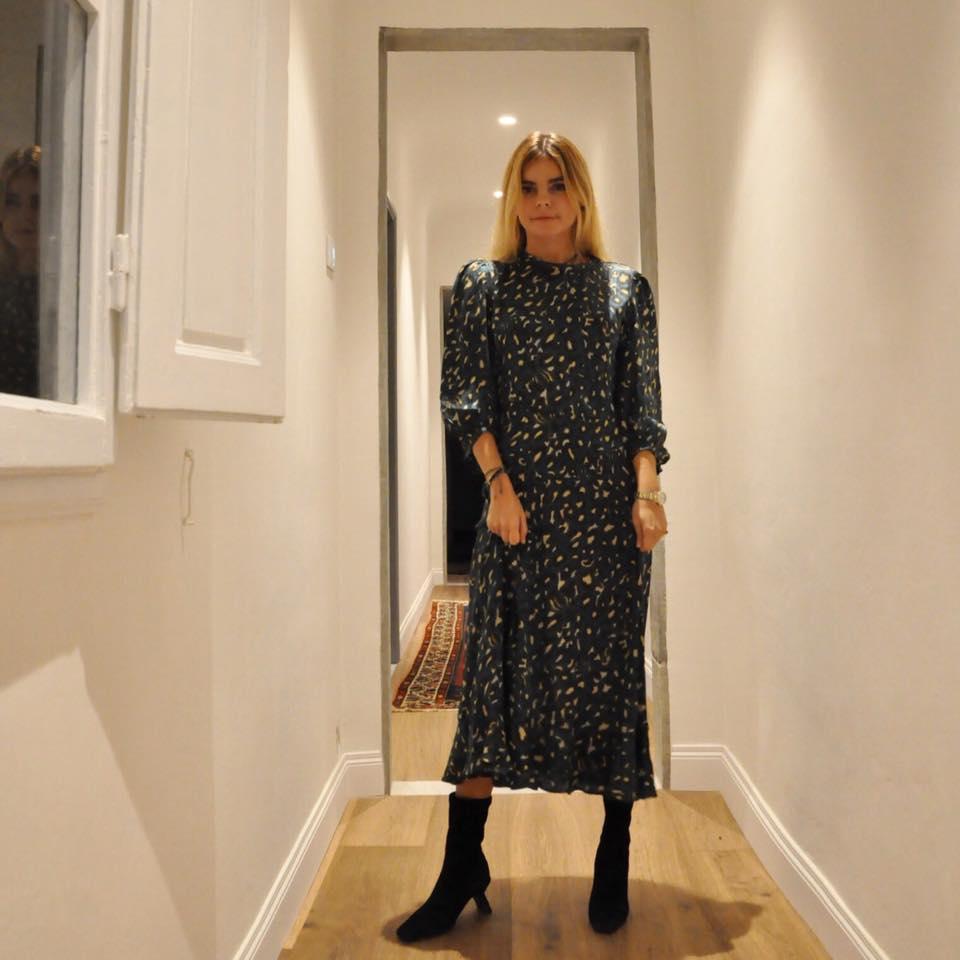 Miista Genevieve Black Suede-worn