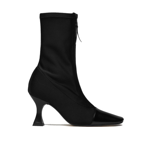 miista olga black strech boot