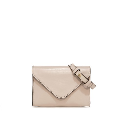 Gianni Chiarini Greta Small Nude Cross Body Bag