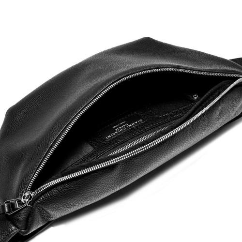 Gianni-Chiarini-Jacky-Funny-Leather-Black-fanny-pack
