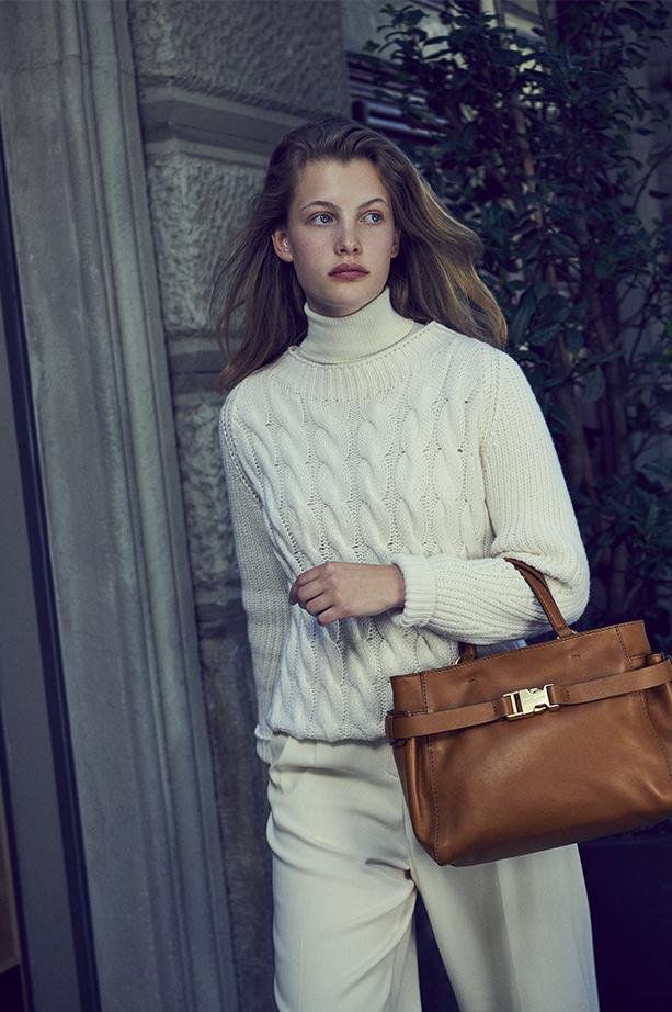 Gianni Chiarini Stella Medium Brown Handbag