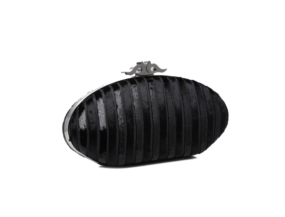 Abbacino Black shiny clutch123