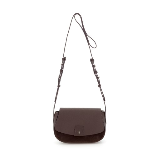 Abbacino Brown Leather Cross Body Bag