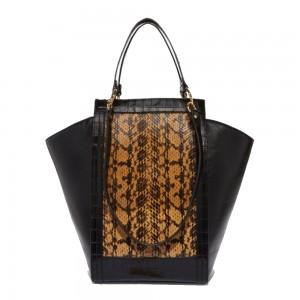 Coccinelle Madeleine Multi Print Leather Handbag12