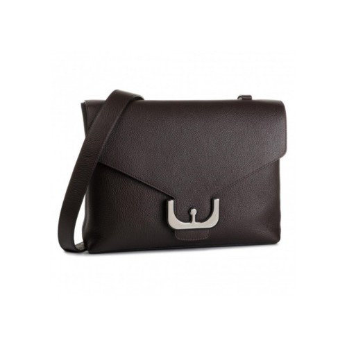 Coccinelle Ambrine Brown Leather Cross-body Bag