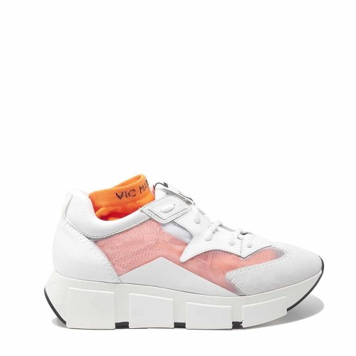 Vic Matie White See-Through Sneakers