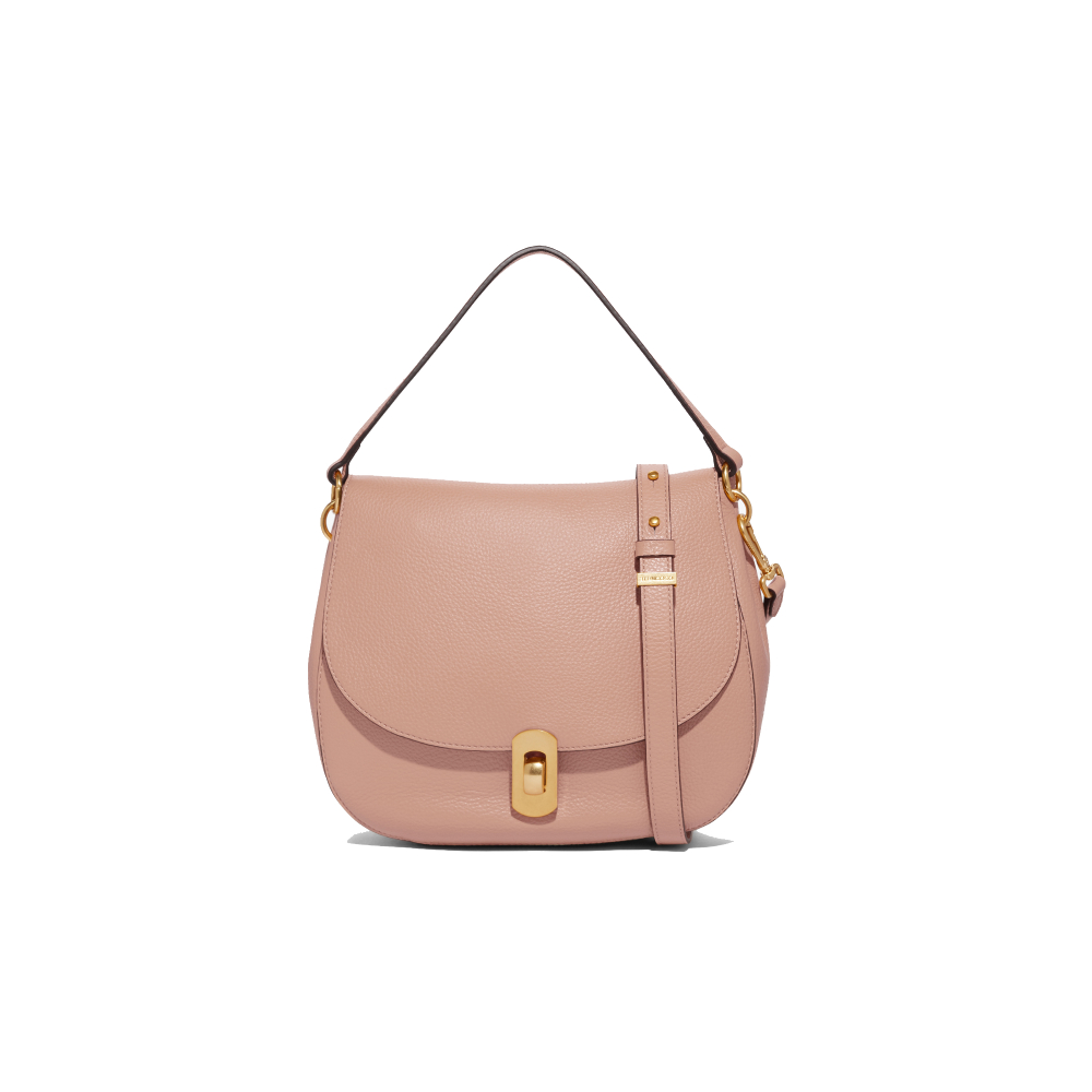 Coccinelle Zaniah Pink Leather Handbag