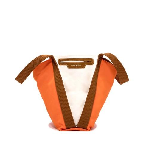 Gianni Chiarini Asia Orange Shoulder Bag