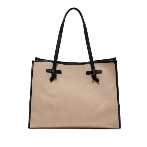 Gianni Chiarini Marcela Medium Beige Shoulder Bag