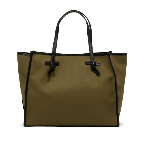 Gianni Chiarini Marcella Medium Green Shoulder Bag