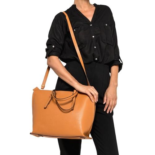 Gianni-Chiarini-Patricia-Orange-Leather-Shopping-Bag-3