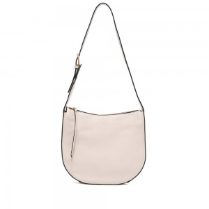 Gianni Chiarini Petra Medium Beige Leather Bag