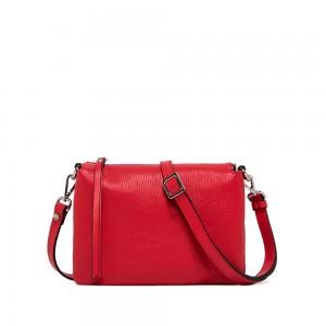 Gianni Chiarini Three Medium Red Crossbody bag