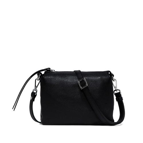 Gianni Chiarini Three Medium Black Crossbody Bag