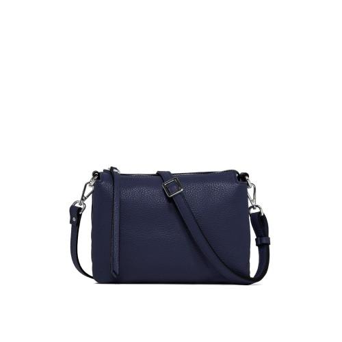 Gianni Chiarini Three Medium Blue Crossbody Bag