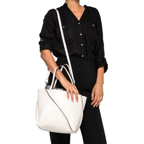 Gianni-Chiarini-Twist-White-Leather-Shoulder-Bag-3