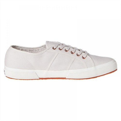 SUPERGA 2750 COTU CLASSIC GREY- ROSE GOLD SNEAKERS