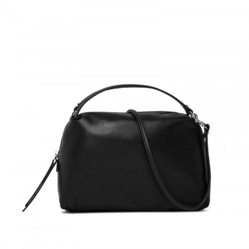 Gianni Chiarini Alifa Medium Black Crossbody Leather Bag