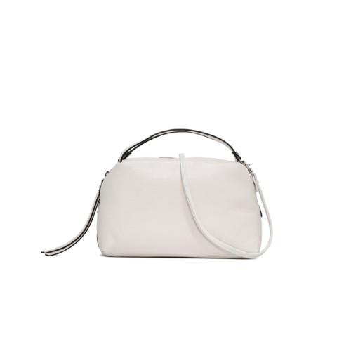 Gianni Chiarini Alifa Medium White Crossbody Bag