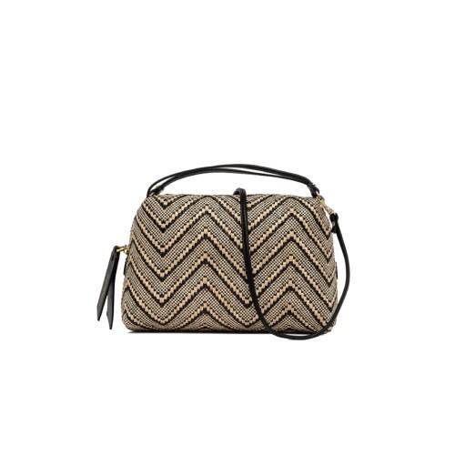 Gianni Chiarini Alifa Medium Woven Crossbody Bag
